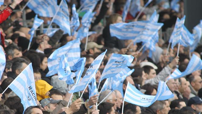 Les drapeaux du Racing 92